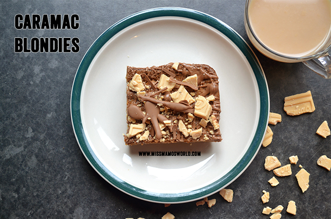 Caramac Blondies : RECIPE