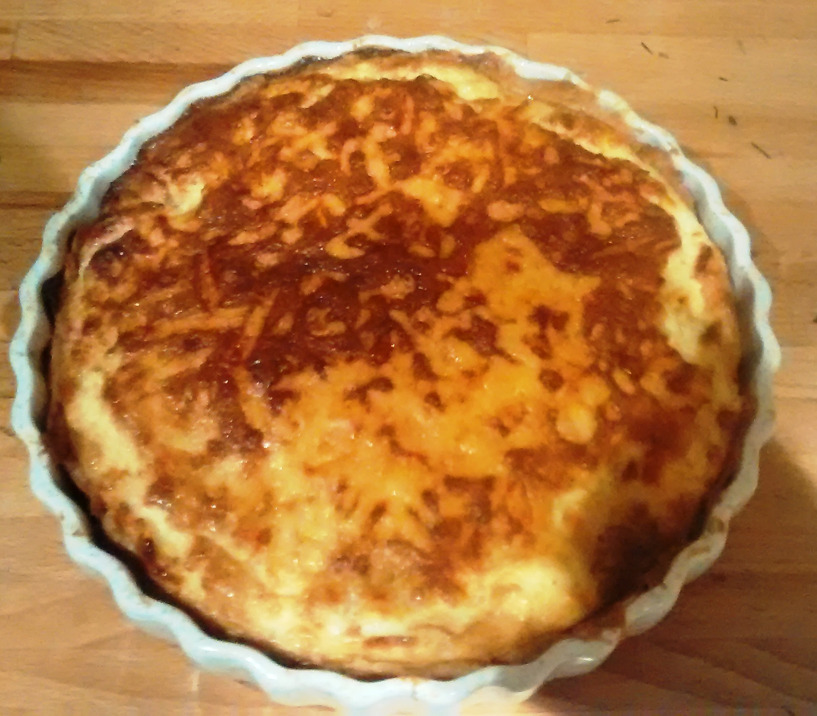 Recipe: Vegetarian Quiche Lorraine