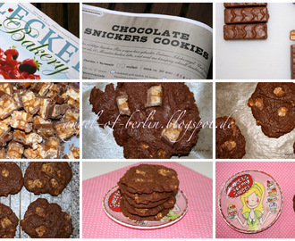 [bakes...] Chocolate Snickers Cookies