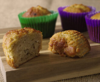 Pear & ginger muffin recipe