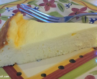 Creamy Crustless Cheesecake