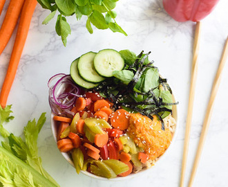 Asian Beauty Buddha Bowl Recipe