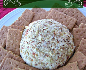 Improv: White Chocolate and Lime Cheeseball