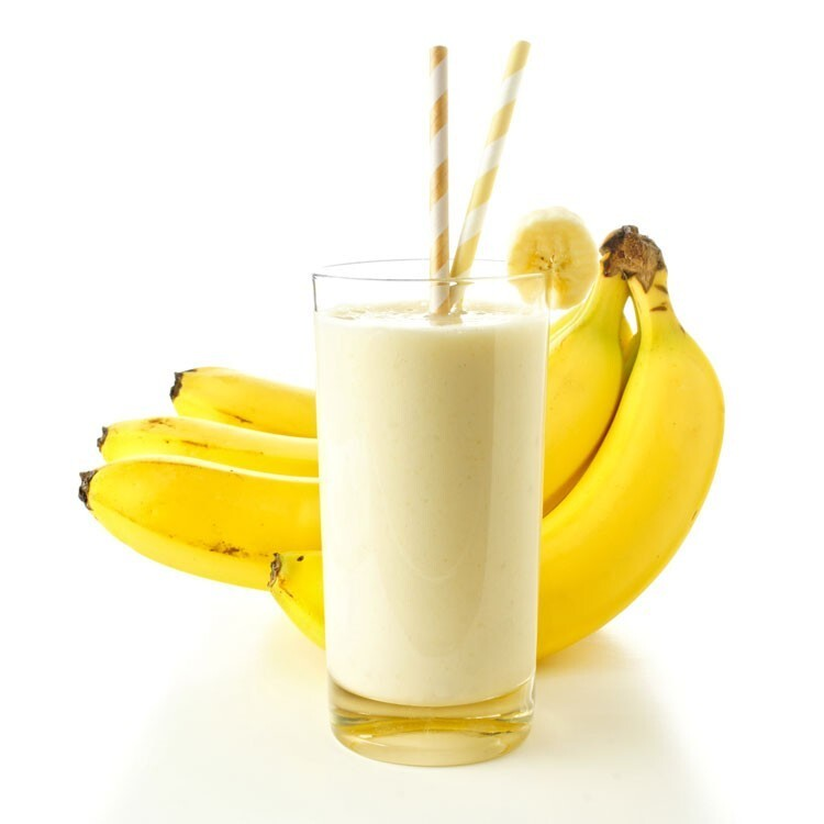 Protein Banana Smoothie with Wheat Germ