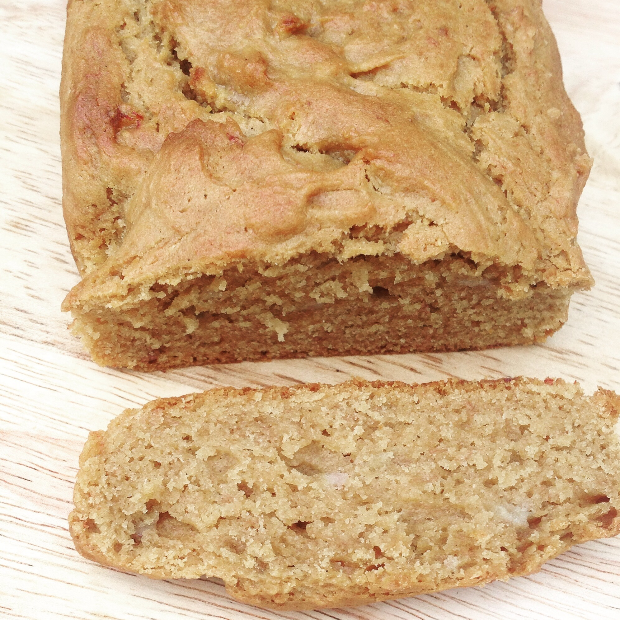Peanut Butter & Banana Bread – Free From Dairy, Eggs & Gluten