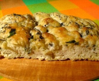 Easiest focaccia recipe in the world for holiday bread this year