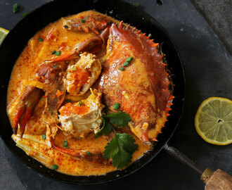 Malaysian Creamy Curry Crab Recipe