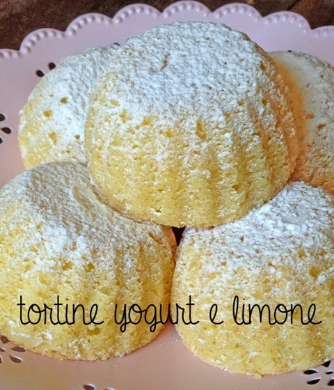 tortine YOGURT & LIMONE