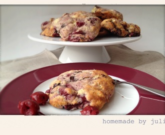 Cherry Chocolate Scones
