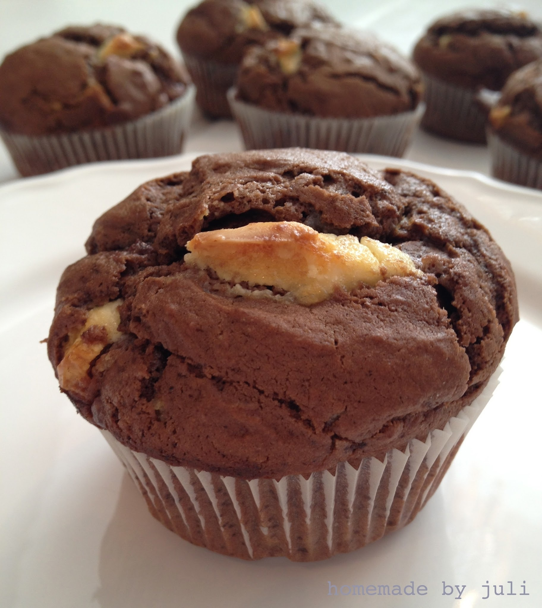 Berlin, Berlin - Triple Chocolate Muffins
