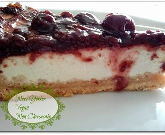 Original Vegan New Yorker Non Cheesecake