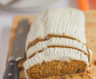 Gluten Free Carrot and Sultana Cake