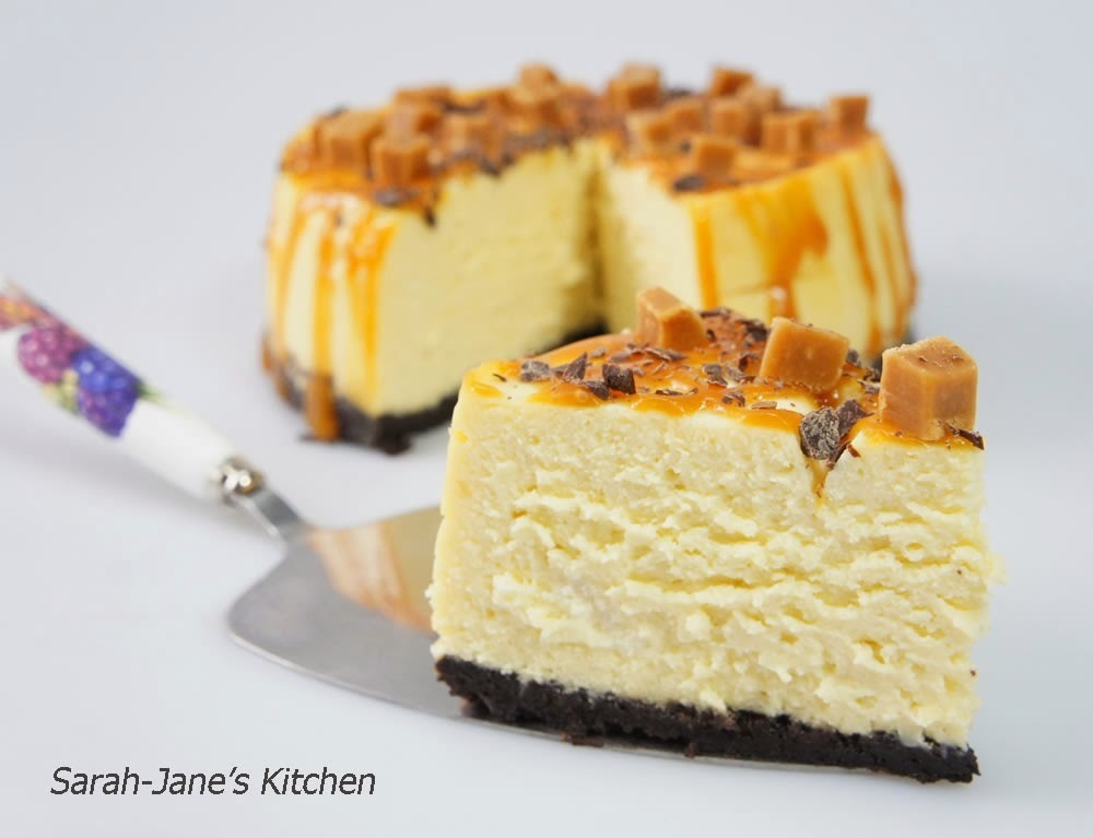 New York Cheesecake With Oreo Cookie Crust and Salt Caramel - Digital Pressure Cooker Recipe