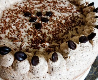 Coffee Cream Sponge Cake #CakeSliceBakers
