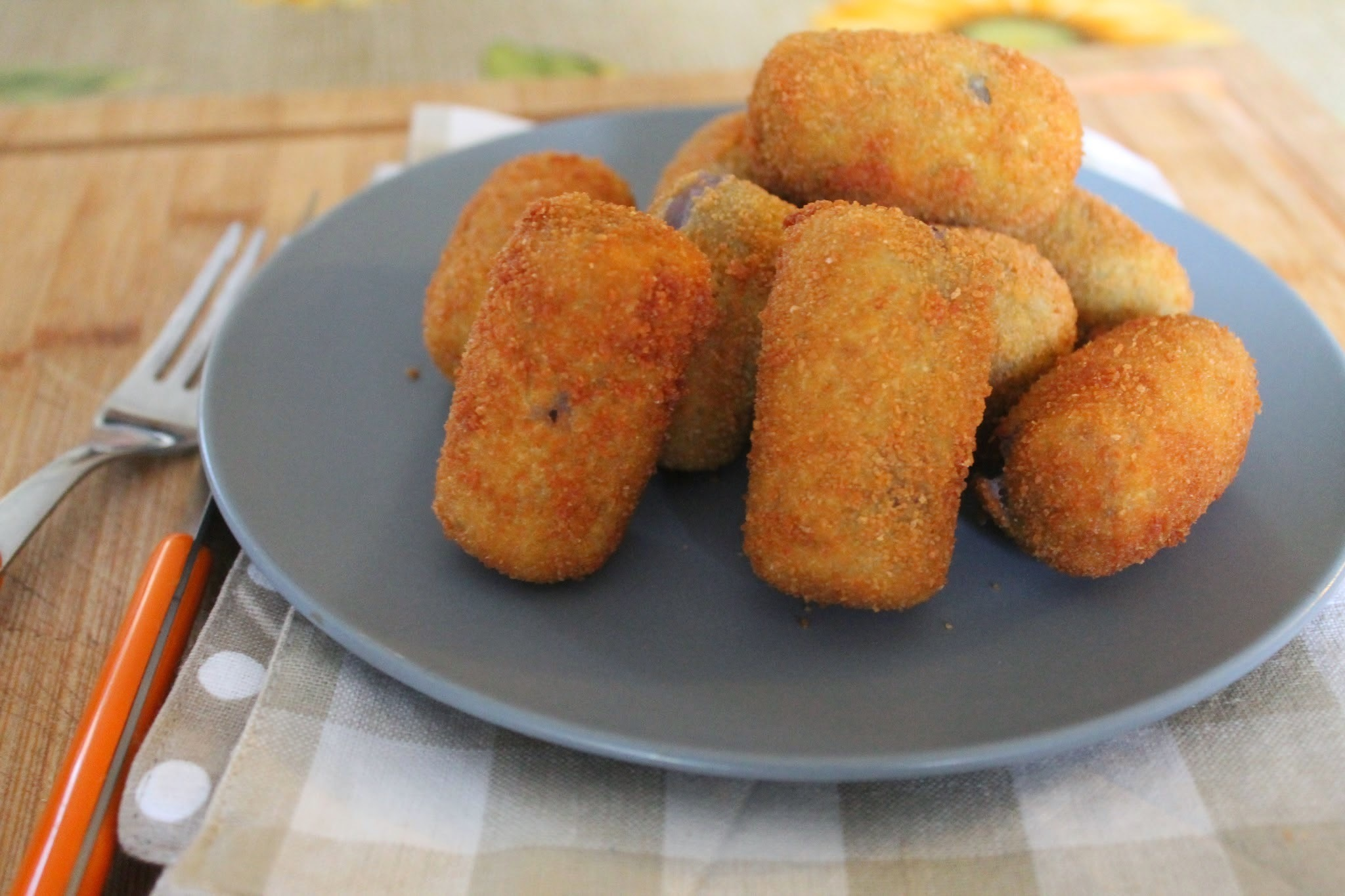 Finger food - Crocchette di patate viola