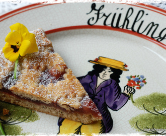 First Day of Spring and a Slice of Linzer Torte
