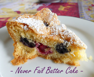 Never Fail Batter Cake