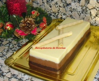 Turrón 3 chocolates en thermomix