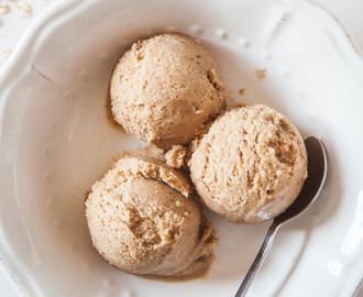 Vegan Oat Raisin Cookie Dough Ice Cream