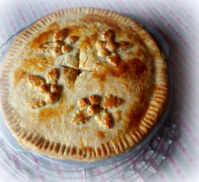 Christmas Tourtiere's 2013