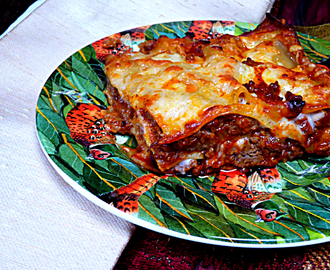 Beef Lasagne with Napolina sauces