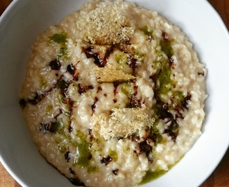 Recipe: Parmigiano Reggiano risotto with 12-year-old balsamic vinegar