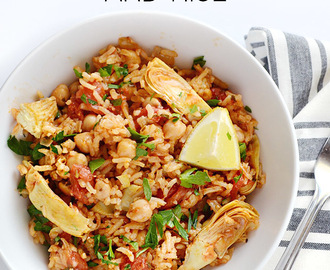 Spanish Chickpeas and Rice