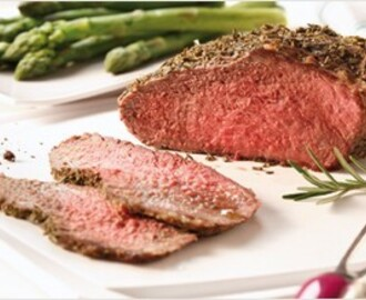 ROAST BEEF AL MICROONDE E ASPARAGI IN STILE TUPPERWARE