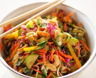 Lighter Asian Noodle Salad