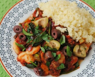 Spanish Butterbean and Spinach Stew