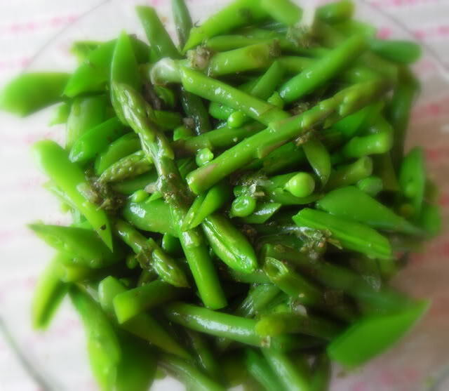 Summer,Salad,of Peas, Beans and Asparagus