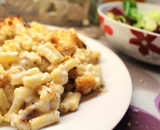 Recipe: Cauliflower Mac'n'Cheese