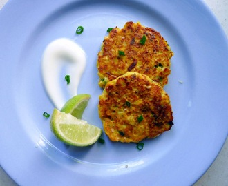 Sweetcorn and Spring Onion Fritters