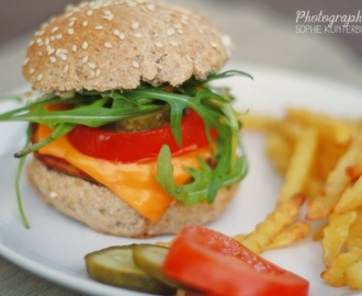 Mini Burger - vegetarisch