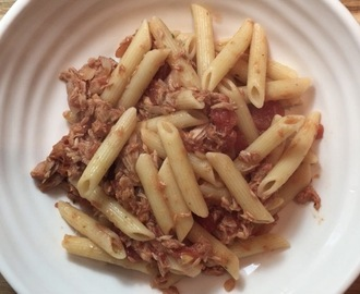 Simple Tuna and Tomato Pasta recipe