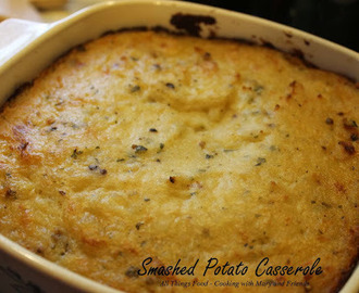 Smashed Baked Potato Casserole