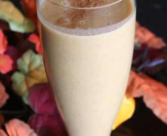 Pumpkin Pie Smoothie (Dairy Free)