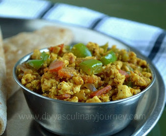 Paneer Bhurji  - Easy Paneer Recipes