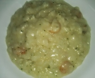 RISOTTO DE GAMBAS THERMOMIX