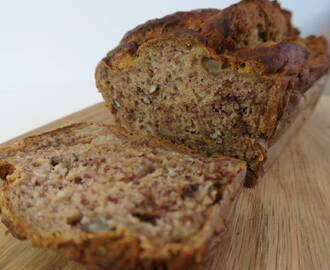 RECIPE: Healthy Gluten Free Banana Bread – Dairy Free & Refined Sugar Free