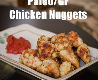 Paleo Garlic Chicken Nuggets Recipe