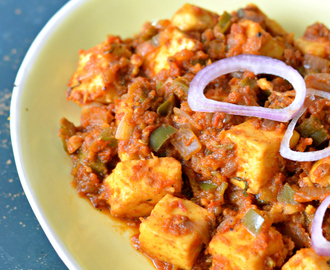 Tawa Paneer recipe | Cottage cheese side with capsicum and spicy tempering | Easy dinner ideas