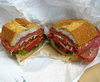 One of America's Favorites - Submarine Sandwich