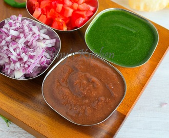 Green Chutney & Tamarind Dates Chutney / Easy Chat Chutney Recipes