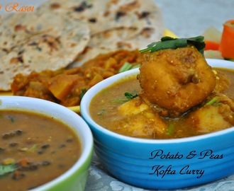 Potato & Peas Kofta Curry