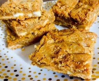 Caramac Blondies