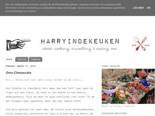 Harry in de Keuken