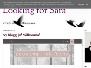 Looking for Sara