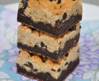 Brownie chocolate chip cookie