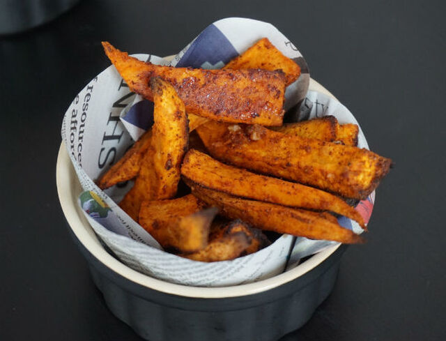 Sweet Potato Fries Two Ways